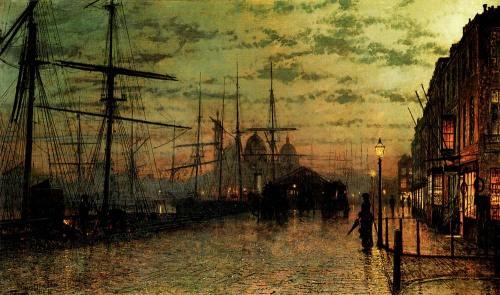 Grimshaw - Humber Docks, Hull, 1884