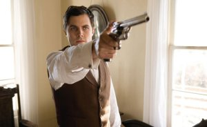 The Picture of the Recreation of the Assassination of Jesse James by the Coward Robert Ford